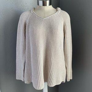 Eileen Fisher Knit Hooded Sweater